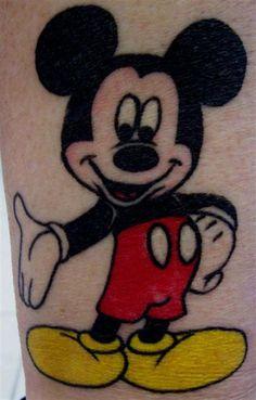 New School tattoo www.tattoodefender.com #newschool #tattoo #tatuaggio #tattooart #tattooartist #tatuaggi #tattooidea #ink #inked #tattoodefender #mickeymouse #topolino