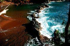 Red Sand Beach at Maui