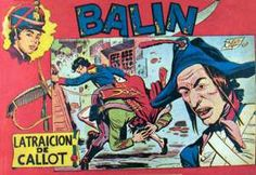 """""""Balín"""" (1955), de José Ortiz Moya. Editado por Maga."""