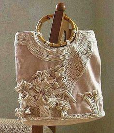 Patrones Crochet, Manualidades y Reciclado: VARIOS MODELOS DE BOLTOS PARA TEJER A CROCHET O GANCHILLO