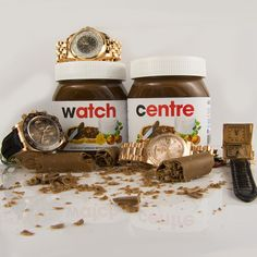 How did you celebrate Nutella day?  #Love #Luxury #Timepiece #Wristwatch #Nutella #Diamond #Rolex #Daytona #PatekPhilippe #AnnualCalendar #DayDate #Chocolate #WatchCentre