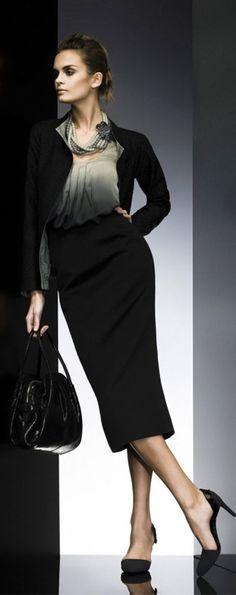 Office Outfit | Giorgio Armani