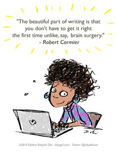 The difference between writing and brain surgery