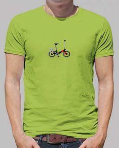 Prezzi e Sconti: #Bike pixel art  ad Euro 18.90 in #Tostadora #T shirt uomo