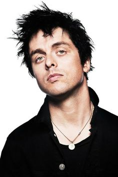Billie Joe: how can one man be so fucking beautiful? Is that a Catholic religious medal? I love it on him.