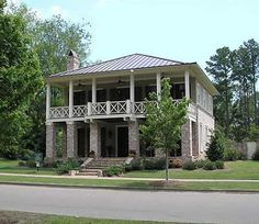 Southern House Plan With three Porches & Traditional 4 Bedroom Home Plans