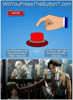 Did you press the button Eren