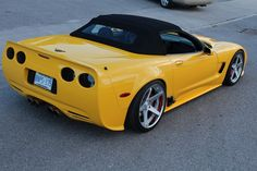 Chevy Corvette C5 + 360 Forged Wheels= head turning look.