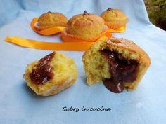 Muffins al cocco con nutella e mascarpone - Ricetta golosissima