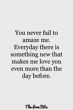 your effort matters more than you know...I love you more every time I see you...xo