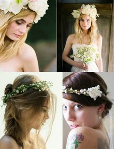 flower crown for flower girl My Perfect Wedding, Dream Wedding, Reasons To Get Married, Bridal Crown, Wedding Hair Pieces, Flower Crowns, Flower Headbands, Getting Married, Wedding Inspiration