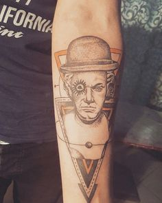 A clockwork orange tattoo
