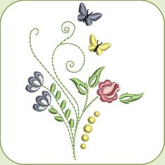 SDS0909 Dainty Flowers 17