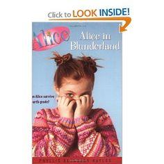 Alice in Blunderland: Phyllis Reynolds Naylor: 9780689843983: Amazon.com: Books