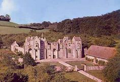 Compton Castle, a National Trust property south of Exeter in Devon, is my image of Alastair's home, Barton Abbey