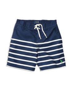 91dc3ff176da8 Ralph Lauren Childrenswear Boys' Sanibel Striped Swim Trunks - Sizes 2-7  Kids - Bloomingdale's