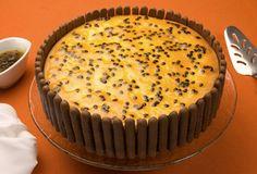 Receita de Torta de Ricota com Maracujá