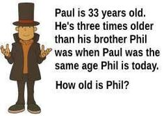 How old is Phil?
