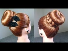 Coque rosquinha com trança e meia - Donut bun with braid and a half - YouTube Donut Bun, First Communion, Bun Hairstyles, Donuts, Character Inspiration, Salons, Braids, Hair Styles, Hair Ideas