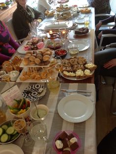 High tea @my place