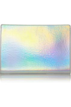 Stella McCartneyHolographic clutch to match my holographic heeled sandals!