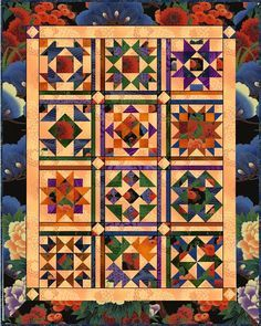 2010-2011 BOM Quilt from Persimmmon Quilts