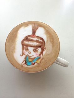 Endlich farbige Kaffeekunst