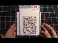 Avery Elle Ellie Clear Stamp & Die Set