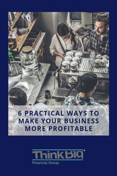 If one of your goals this year is to make your business more profitable, we'd like to share with you 6 practical ways to achieve that. Start Up Business, Growing Your Business, Business Planning, Business Tips, Growth Mindset Quotes, Startup Quotes, Online Entrepreneur, Building Ideas, Virtual Assistant
