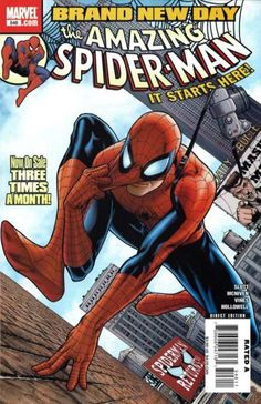Cover for The Amazing Spider-Man (Marvel, 1999 series) #546 [Direct Edition]