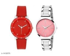 Watches Trendy  Women's  Watches  (Pack Of 2) Material: Silver & Leather Size: Free Size Type: Analog Description: It Has 2 Pieces Of Women's Watches   Sizes Available: Free Size   Catalog Rating: ★4 (488)  Catalog Name: Dailywear Women'Swatches Combo CatalogID_183032 C72-SC1087 Code: 962-1412870-585