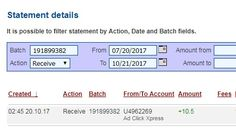 Anyone can make money with ACX without leaving home! I am getting paid daily at ACX and here is proof of my latest withdrawal. This is not a scam and I love making money online with Ad Click Xpress. Join for FREE and get 10$ Tripler pack from ACX to get you started earning 4% per day. Earn 150% on Tripler Packs in 44 days. Spend as much as you want. My #16 Withdrawal Proof of online income from Ad Click Xpress Tripler.