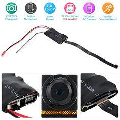 KKmoon Mini Cámara de Vigilancia Full HD 1080P 12MP CCTV DVR Soporta TF Tarjeta MIC Remoto Registro Fotografía Detección de Movimiento - http://www.midronepro.com/producto/kkmoon-mini-camara-de-vigilancia-full-hd-1080p-12mp-cctv-dvr-soporta-tf-tarjeta-mic-remoto-registro-fotografia-deteccion-de-movimiento/