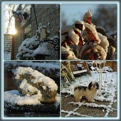 SNOW December 2012 different collage