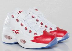 Allen Iverson Reebok Question Sneakers Mid - Available at SneakersnStuff - #crispculture