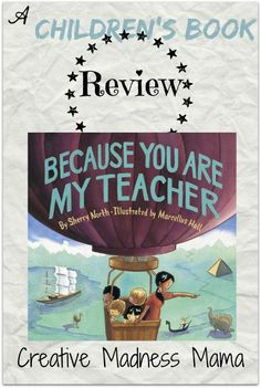 Because You are My Teacher Children's book Review