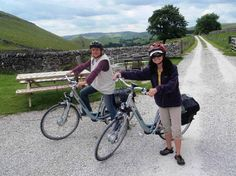 Cycling for softies - take one of our own electric bikes out and head for the High Peak Trail.  It beats lycra going uphill !