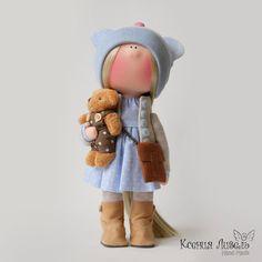 "64 Me gusta, 1 comentarios - Ксения Ливель (@dolls_by_klivel) en Instagram: ""Выполнена на заказ💙🐻 #dolls_by_ #кукла #Пупс #кукларучнойработы #кукланазаказ #ручнаяработа…"""