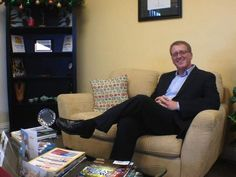 Chris Black, owner of Winged Foot Title, poses in his Fort Myers office. He opened the company in 2007 and has used short sales, educational efforts and technology to increase his business.