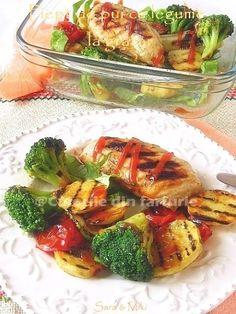 Ketchup, Zucchini, Chicken, Meat, Food, Essen, Meals, Yemek, Eten