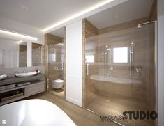 nowoczesna łazienka - zdjęcie od MIKOŁAJSKAstudio - Łazienka - Styl Skandynawski - MIKOŁAJSKAstudio