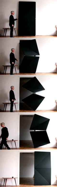 Need one of these in our new house. :-) Klemens Torggler | Evolution Door | http://www.torggler.co.at/
