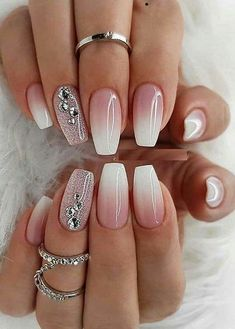 Fall Nail Art Designs, Ombre Nail Designs, Cool Nail Designs, Acrylic Nail Designs, Acrylic Nails, Coffin Nails, Indian Nail Designs, Fancy Nails Designs, Decoration Stickers