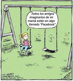 Amigos imaginarios en Facebook