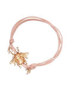 Nude bee friendship bracelet, Daniela Sigurd