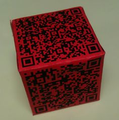 QR Cubes!  What a great way to do quick fact reviews, choose a story starter, or review content!