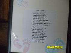 Jesus Loves You. This is also one of my children's poems given for the Oranole Project Auction.