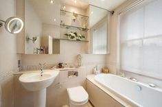 fitted bath and storage