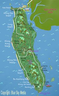 Lanta Islands Guide - Getting to Koh Lanta