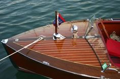 Chris Craft Wooden Boats...aww